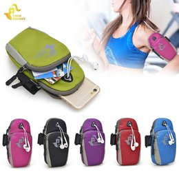 Wrist Phone Cases For Running Australia - Free Knight 5 inches Running Bag Women Nylon Jogging Gym Bag Sport Running Wrist Arm For Phone Case Armband Outdoor Hand #86656