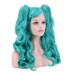 $enCountryForm.capitalKeyWord Australia - Colorful Long Hair with Two Claw Clip Ponytails Harajuku Style Cosplay Lolita Wig