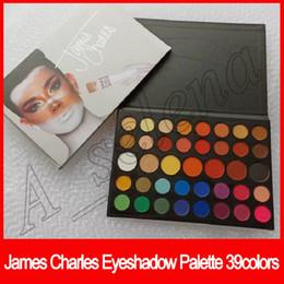 Venta al por mayor de 2018 Nuevo maquillaje de ojos James Charles Eye Beauty Colors Natural Larga duración 39 colores mate shimmer Eyeshadow Palette