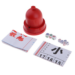 Sic Bo + Fish-Crab-Prawn Classic Gambling Game Set with Automatic Dice Cup on Sale