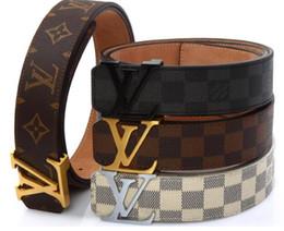 Chaude 2019 classique Noir De Luxe Haute Qualité ceinture Designer Ceintures De Mode grosse perle G H boucle ceinture hommes femmes ceinture livraison gratuite en Solde