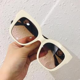 $enCountryForm.capitalKeyWord Australia - 0359 Letter F Sunglasses Women Luxury Sunglasses with Stamp Square Full Frame UV400 Eyewear Come with Box