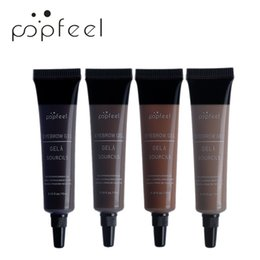 $enCountryForm.capitalKeyWord Australia - Eyebrow Gel 4 Color 3D Silk Fiber For Eyelash Mascara Long-lasting Waterproof Sweat Proof Eye Brow Best Makeup Dye Cream Tint Enhancer Brows