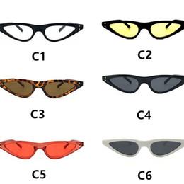 4603cf8ed78 Cat Eye Sunglasses Vintage Sun Glasses Brand Eyewear Men And Women Hip Hop  Colors Mix Multiple Styles 4 8br F1