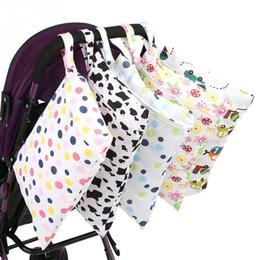 $enCountryForm.capitalKeyWord Australia - Baby 30*40cm Diaper Bag Infant Waterproof Reusable Bag Print Pocket Nappy Travel Single Layer Diaper Print Pocket