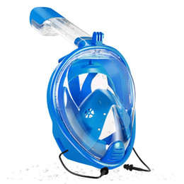 full dive mask NZ - Yahey New 180 ''Full Face Diving Mask Underwater Scuba Anti Fog Snorkeling Swimming Set With Anti -Skid Ring Scuba Gopro Camera