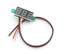 $enCountryForm.capitalKeyWord Canada - Red Blue LED 0~100V DC Volt Voltage Battery Tester Meter Digital Voltmeter Tester