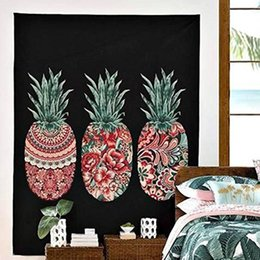 $enCountryForm.capitalKeyWord Australia - 1PC Pineapple Tapestry Wall Hanging Carpet Sofa Cover Beach Towel Throw Picnic Blanket Tablecloth Playa Shawl Couverture Polaire