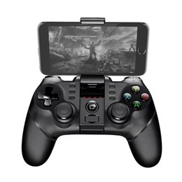 Chinese  Wholesale iPega PG-9077 Wireless Bluetooth Handle Games Joystick Gamepad For Smart Phones Tablets Smart TV for Xiaomi Huawei Honor E285 manufacturers