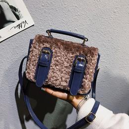 309af9becc Fashion Handbags Imitation Australia - Winter Fashion Imitation Wool Women  Crossbody Bag Luxury Handbags Ladies Bags