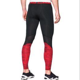 e243e90477ba8 Men Boys Sports Compression Tight U&A Quick Dry Leggings Summer Training  Base Layer Stretch Pants Slim Skinny Jogging Gym Trousers C42401