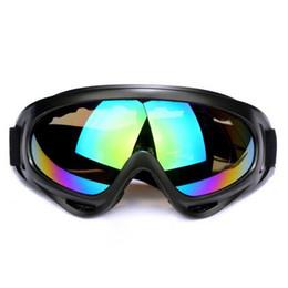 Black eye Bikes online shopping - Outdoor Bike Dustproof Sunglasses Ski Snowboard ATV Dirt Bike Off Road Adult Goggles Glasses Eyewear Clear Frame Eye Glasses