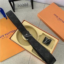 $enCountryForm.capitalKeyWord Australia - Classic Leather Belts Fashion Jeans Belt Letter Buckle Waist Straps Mens Casual Belt Womens Shorts Belts with Box
