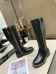 genuine leather over knee boots Australia - aafashion latest luxury women s designer boots 100% leather high heels spring and autumn over the knee boots winter women s shoes