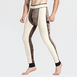 Tight Plus Sized Leggings Australia - 600g Thicken Winter Warm Mens Leggings Tight Men's Long Johns Plus Size Tights Male Thermal Warm Pants Underwear 568