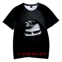 bf55fb69 BTS 2019 drop shopping Alan Walker 3D t-shirts Boy girl Children's wear  summer Casual t shirts Short Sleeve Clothes