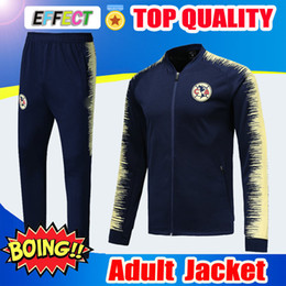 $enCountryForm.capitalKeyWord NZ - Survetement 2019 Copa America Mexico Club America Soccer Jacket 18 19 20 Tracksuit Chivas UNAM Long Sleeve Training Soccer Jacket Kit