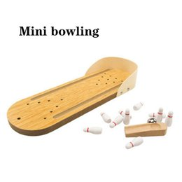 $enCountryForm.capitalKeyWord Australia - Wooden mini bowling Parent-child interactive board games Children's board games toys Wooden bowling game