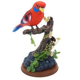 [Aves de controle de som - 517] [Talk] [Call irá se mover] Simulação de gravação de brinquedo papagaio venda por atacado