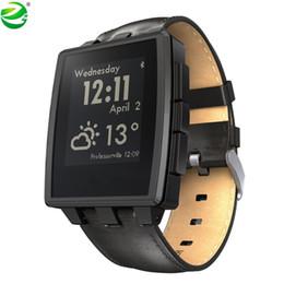 $enCountryForm.capitalKeyWord Australia - ZycBeautiful for Pebble Steel Multi-Functions Smart Watch for Pebble Sports Watch 5-ATM Waterproof Smart