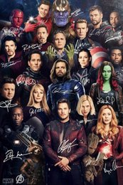 Wholesale painting signatures for sale – custom Signature Movie SILK POSTER Decorative painting x36inch
