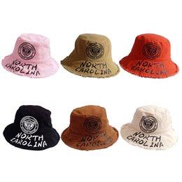 Sunny Hats Australia - Spring Summer Children's Boys Girls Letter Printed Pattern Kids Fisherman Bucket Cap Sunny Casual Hats