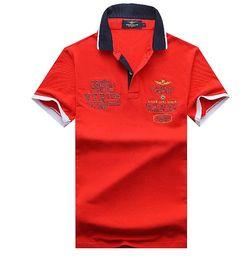 $enCountryForm.capitalKeyWord Australia - Hot summer US popular cotton Army Air force embroidery polo shirts shorts sleeve men polo shirts male tees Men's Casual Shirts Clothing