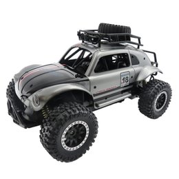 Wholesale wholesale SL-145A 1:14 Scale 2.4GHz 2WD High Speed Car Crawler Truck Radio Off-Road Vehicle Rally Car - Silver Orange