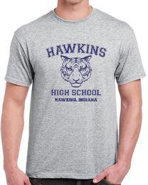 $enCountryForm.capitalKeyWord Australia - 539 Hawkins High School mens T-shirt funny costume stranger tv show things funny Funny free shipping Unisex Casual Tshirt top