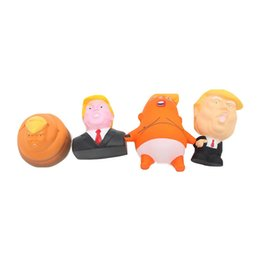 $enCountryForm.capitalKeyWord NZ - Cartoon President Trump Squishy Squeeze Toy Slow Rising Funny Toys Stress Relief Gift for Children 4 Styles