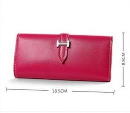 coin holder wholesale UK - 2019 fashion new long wallet leather holds high quality famous classical designer women key holder coin purse pu leather wallets