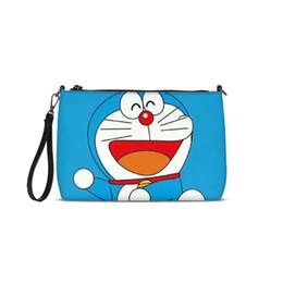 $enCountryForm.capitalKeyWord NZ - 2019 New Arrival Belt Clutch Bag Doraemon Print Lady Shoulder Bags Fashion Leather Handbags Small Purse Day Clutches Bolso Mujer