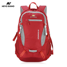 Traveling Back Bags Australia - NEVO RHINO 30L Outdoor Sports Backpack Men Women Traveling Climbing Hiking Camping Outdoor Bags Backpacks with Foam Back #767745