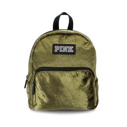 dd61730fb0 Hot pink scHool bag online shopping - Pink Letter Laser Backpack Shoulder  Bag Girls Mini Suede