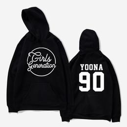 generations clothing 2019 - aikooki Sweatshirts-men Girls Generation Kpop idol Hoodies Women Autumn Streetwear Fans Hoodies With Cap Casual Clothes