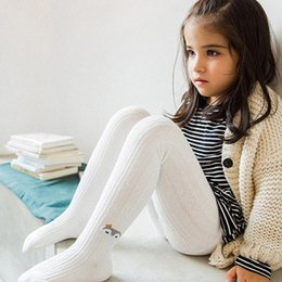 Girls cotton knit dresses online shopping - DHL Winter Girls Pants Toddler Girls Knitted Pantyhose Warm Baby Girls Tights Multi Colors Baby Girl Stocking For Y