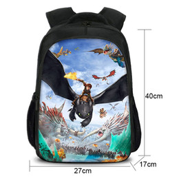 3c60d4d9fc5 Kids Toothless Light Fury Printed Backpack How To Train Your Dragon 3 The  Hidden World Kanpsack boy girl Schoolbag Study Bookbag