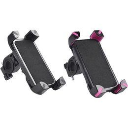 Wholesale Bike Phone Holder Universal Cell Phone Motorcycle Bicycle Stand Mount Degree Rotation for iPhone Samsung Nexus HTC LG BlackBerry