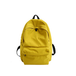 Cute Dresses For School UK - 2019 Fashion Style Canvas women Backpack for Girl teens Printing Casual School Bag Large Back pack teenager schoolbag cute