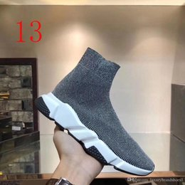 cotton knit patterns NZ - pattern Summer Casual Socks shoes Sexy knitted elastic sock boots Designer woman Shoes Fashion male sports shoes Large