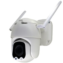Night Vision Zoom Australia - GOING tech WiFi Wireless 3G 4G PTZ camera with sim card slot 4X optical zoom outdoor weatherproof night vision security