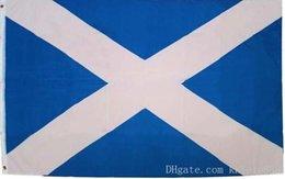 Bandiera scozzese Bandiera nazionale scozzese in poliestere 90 x 150 cm
