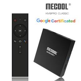 $enCountryForm.capitalKeyWord Australia - KM9 Pro Classic Google Certificated ATV TV Box Android 9.0 Voice Remote Amlogic S905X2 Quad Core Bluetooth Smart TVbox 2.4G Wifi 4K YouTube