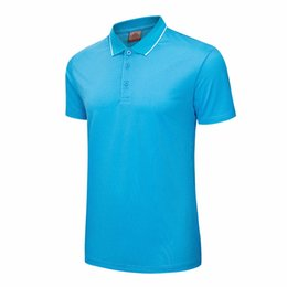 quick dry polo shirts men Australia - 2018New Men Running T-shirt Racing Jerseys Quick Dry Short Sleeve Breathable Gym Shirtsoutdoor Exercise Golf Polo Shirts Clothes