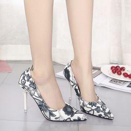 Lace Wedding Dresses Seller Australia - Dress Womens Shoes Super High Heels 10cm Ladies Pumps Slip-on Party Wedding Shoes Fashion Classic Italian Designer Elegant Best Seller