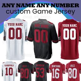 a5b05b8ee Custom Jersey 49er jersey 7 Colin Kaepernick 74 Joe Staley 28 Carlos Hyde  53 NaVorro Bowman 56 Reuben Foster