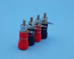$enCountryForm.capitalKeyWord Australia - 100Pcs JS-919 Binding Posts Speaker Terminal for 4mm Banana Plug Red and Black Each 5