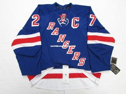 york rangers mcdonagh jersey NZ - Cheap custom RYAN McDONAGH NEW YORK RANGERS HOME EDGE 2.0 7287 JERSEY stitch add any number any name Mens Hockey Jersey GOALIE CUT 5XL