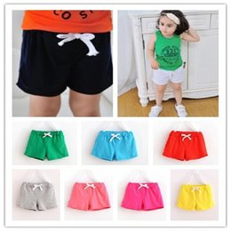 Color Cotton Candy Australia - kids clothing Summer Children Cotton Shorts Boys Girl Clothes Baby Fashion Pants summer boys beach pant Candy color shorts