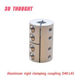 $enCountryForm.capitalKeyWord Australia - D40L45 5 8 12mm Aluminum Flexible Shaft Coupler clamping Rigid Coupling Motor Connector D40 L45